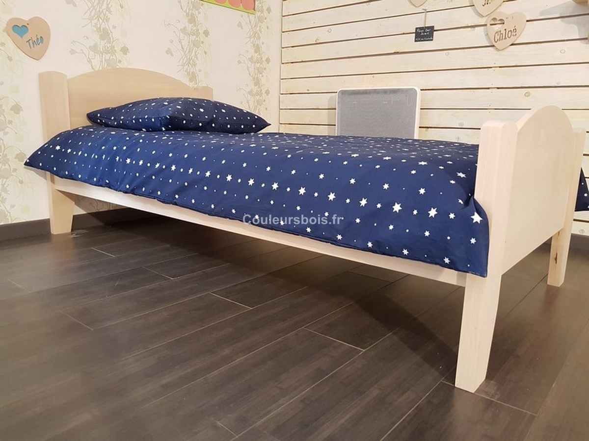 lit adulte cologique. Black Bedroom Furniture Sets. Home Design Ideas