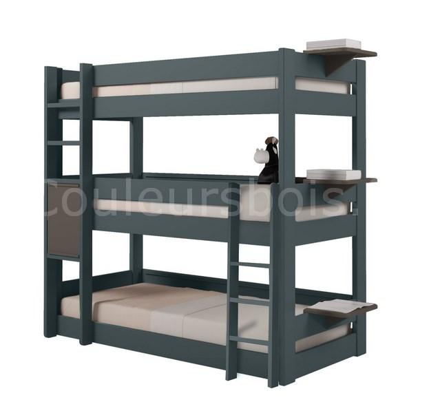 lits enfants superpos s triples dominique mathy by bols. Black Bedroom Furniture Sets. Home Design Ideas