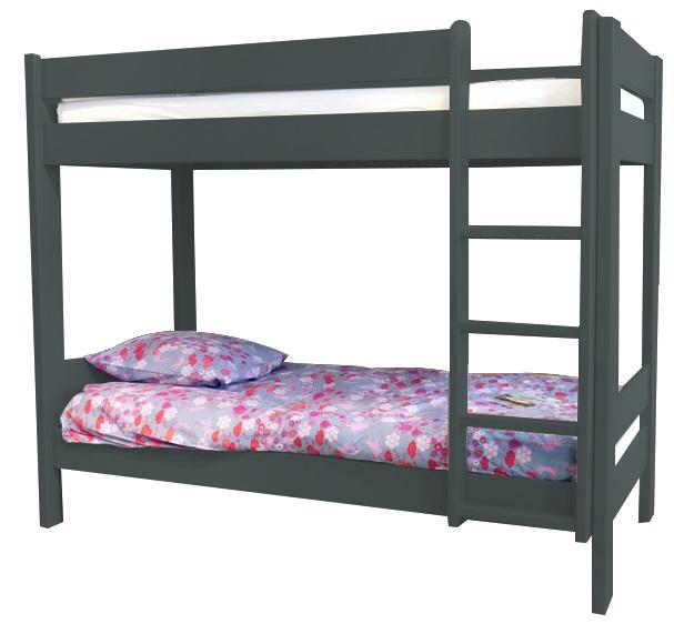 lits superpos s enfants bois massif dominique 166 cm mathy by bols. Black Bedroom Furniture Sets. Home Design Ideas