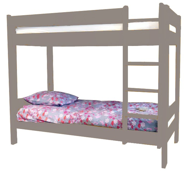 lits superpos s enfants bois massif dominique 166 cm mathy. Black Bedroom Furniture Sets. Home Design Ideas