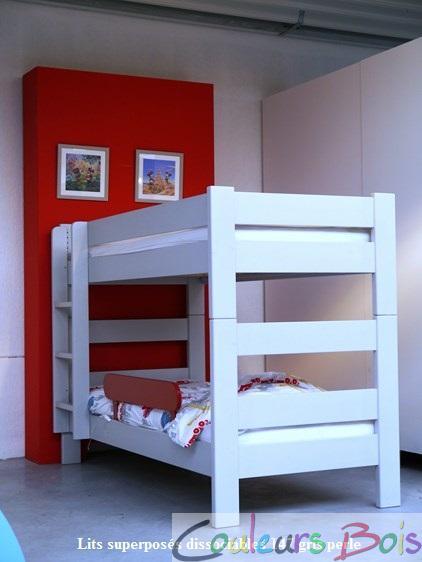 lits superpos s enfants dissociables dominique 149 cm mathy by bols. Black Bedroom Furniture Sets. Home Design Ideas