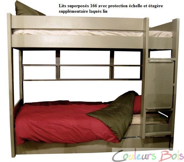 Protection chelle pour lits superpos s et mezzanine mathy - Echelle pour lit superpose ...