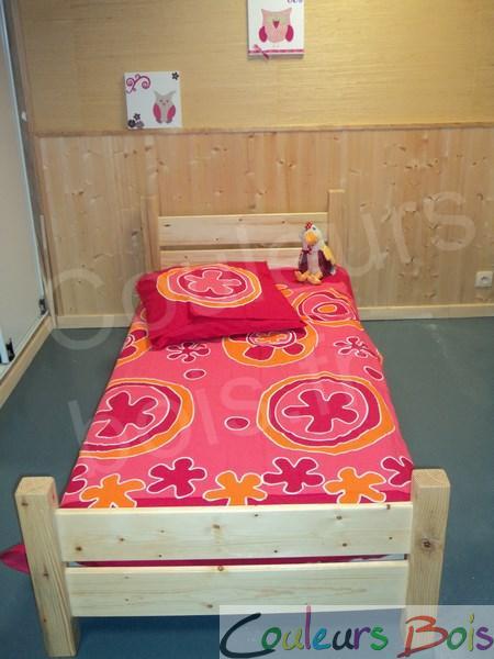 lit enfant artisanal cologique th o en bois massif. Black Bedroom Furniture Sets. Home Design Ideas