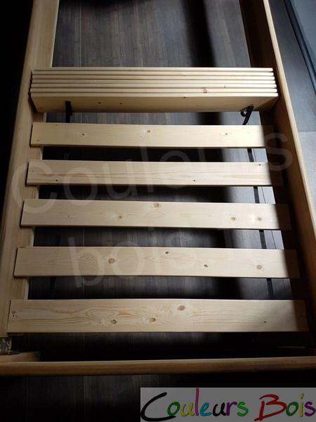 lit enfant artisanal cologique tim o en bois massif. Black Bedroom Furniture Sets. Home Design Ideas