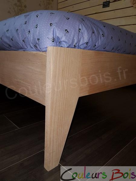 lit enfant cologique design orion en bois massif. Black Bedroom Furniture Sets. Home Design Ideas