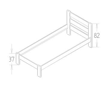 Dimensions du lit enfant ou adulte Stéphane Mathy by Bols