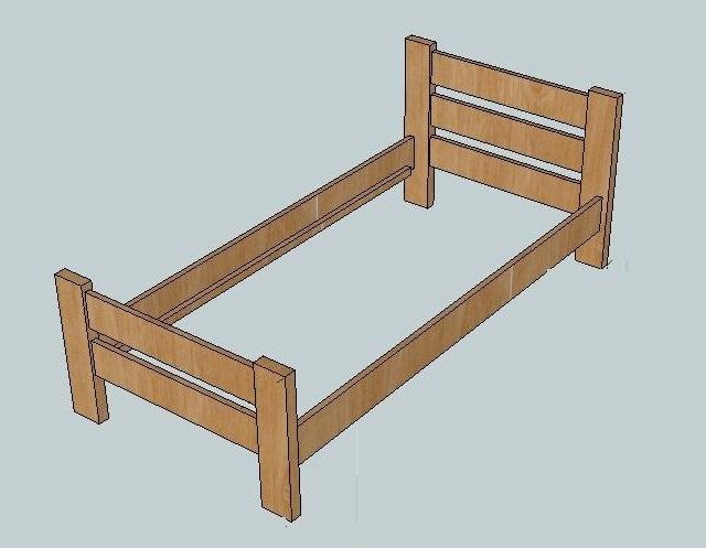 Modélisation du lit enfant