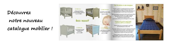 Le catalogue du magasin de meubles écologiques Couleurs Bois